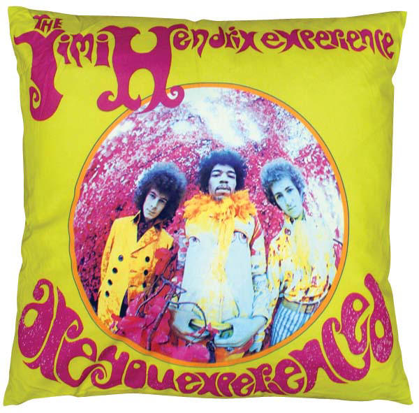 Jimi Hendrix are You Experienced Pillow