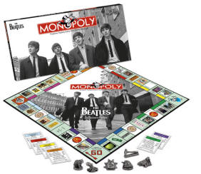 The Beatles Collector's Edition Monopoly Set Monopoly