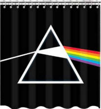 Pink Floyd Dark Side of the Moon Shower Curtain